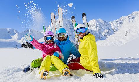 Ski Wettbewerb