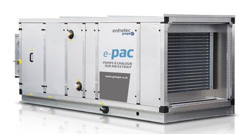 récupération énergie systèmes ventilation
