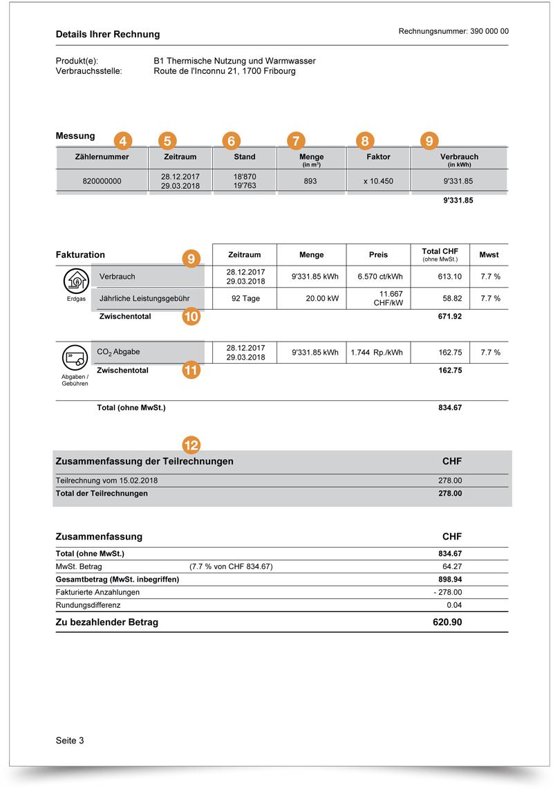 Rechnung - Seite 2