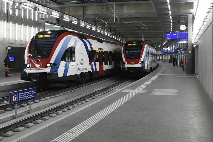 Groupe E a mis en place le contrôle-commande sur la liaison ferroviaire Cornavin-Annemasse (CEVA)