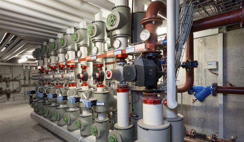 L'infrastructure de l'Hôpital Intercantonal de la Broye est chauffée et rafraîchie grâce à l'eau du lac de Neuchâtel