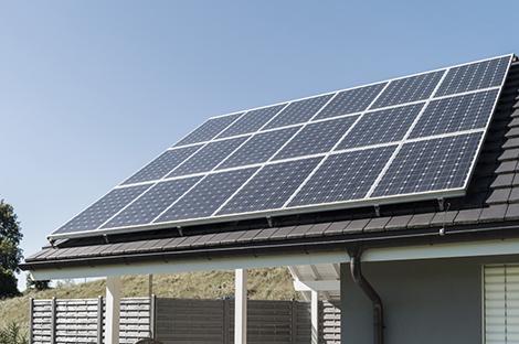 Installation photovoltaïque privée